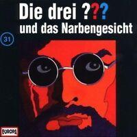"""DIE DREI ??? """"UND DAS NARBENGESICHT (FOLGE 31)"""" CD HÖRBUCH NEW"""