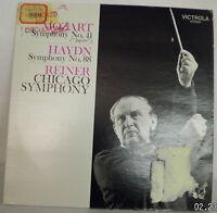 Mozart Symphony No 41 Jupiter Haydn Symphony No 88 Reiner Chicago record