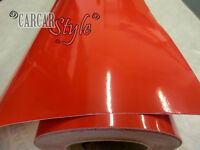 [RED] Gloss Vinyl Wrap Sticker 610mm x 300mm [0.3M]