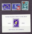 Liberia # 408-09 & C151-52 MNH Complete Space