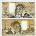 Gertbrolen 500 FRANCS PASCAL du 6-8-1992 S. 396 Billet Numéro 989203168