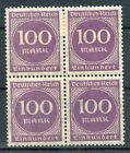STAMP / TIMBRE ALLEMAGNE GERMANY DEUTFCHES REICH BLOC DE 4 N° 243 **