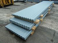 "3"" Corrugated Roofing Sheets Metal/Steel - Alaska Grey Prisma Heavy Gauge 0.7mm"