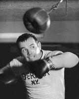 1959 Heavyweight Champ JENS INGEMAR JOHANSSON Glossy 8x10 Photo Print Boxing