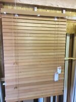 Real Wood Venetian Blinds in 25mm slat - Choice of Colours & Various Sizes