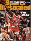 March 27, 1995 Michael Jordan #45 Chicago Bulls Sports Illustrated