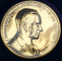 "Calvin Coolidge Presidential Medal, From the ""Hail to The Chiefs"" Collection"