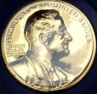 "Franklin Roosevelt Presidential Medal, From the ""Hail to The Chiefs"" Collection"