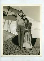 JOHNNY WEISMULLER LUPE VELEZ w/SNIPE LAUGHING BOY 1934 VINTAGE PHOTO 159P