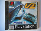 **PS1 VP VANISHING POINT PLAYSTATION RACING GAME WITH INSTRUCTION BOOK**