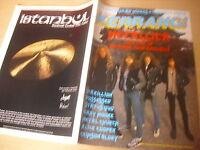 KERRANG  Great Classic Rock / Heavy Metal magazine   #135