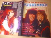 KERRANG  Great Classic Rock / Heavy Metal magazine   #117