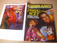 KERRANG  Great Classic Rock / Heavy Metal magazine   #129
