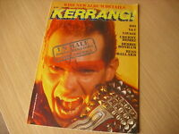KERRANG  Great Classic  Rock / Heavy Metal magazine  1985  #101