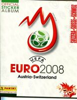Panini Euro 2008 Stickers Empty Album. RARE SWISS EDITION with Swiss Insert