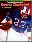 September 16, 1974 O.J. Simpson Buffalo Bills Sports Illustrated B