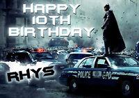 Personalised Batman The Dark Knight Rises NEW! Birthday Greeting Card A5
