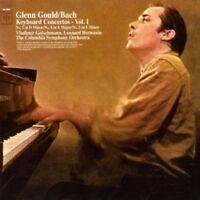 GLENN GOULD - BACH: KEYBOARD CONCERTOS NOS.1,4 & 5  CD 9 TRACKS PIANO  NEW