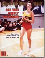 Feb. 18 1980 Mary Decker Track and Field SPORTS ILLUSTRATED NO LABEL Newsstand A