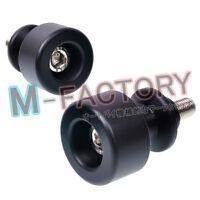 M-Factory Honda Swingarm Spools Delrin Sliders Paddock Stand Use 8MM