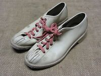Vintage Brunswick Leather Bowling Shoes Antique Football Sports Ball Bowl 7081
