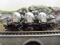 Brawa 37152 Behältertragwagen Lbs 577 der DB Spur 0 Epoche IV