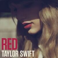 "TAYLOR SWIFT ""RED"" CD NEW"