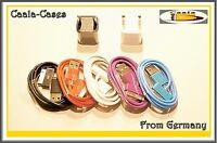 Iphone 4 3 g s  Ladekabel Kabel Ladestation USB  Dockingstation versch. Farben