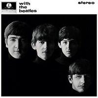 THE BEATLES - WITH THE BEATLES  VINYL LP  14 TRACKS BEAT POP  NEW