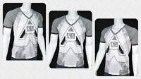 Armani Exchange T Shirt V Neck White Large A|X Logo Muscle Slim Fit