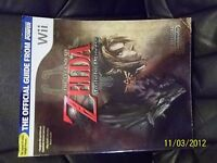 The Legend of Zelda Twilight Princess LE Cover Official Strategy Guide Wii