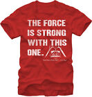 STAR WARS - The Force is Strong (Distressed Print):T-shirt NEW:MEDIUM ONLY: