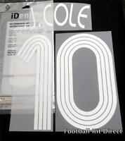 Chelsea J.Cole 10 Uefa Champions League 2006/07 Football Shirt Name Set Home