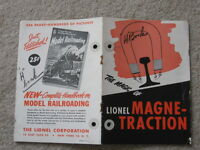 1950 LIONEL TRAINS THE MAGIC OF LIONEL MAGNE-TRACTION GOOD