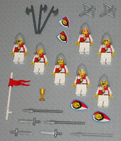 LEGO Minifigures Lot 7 Lion Knights Castle Swords Weapons Lego Minifigs Toys