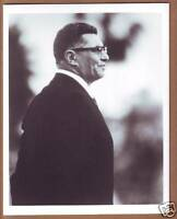VINTAGE 8x10 B&W Photo of Vince Lombardi - Green Bay Packers - Hall of Fame !!!
