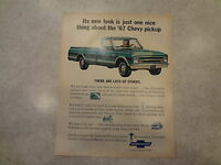 1967 Chevrolet Pickup Truck Original Magazine Ad