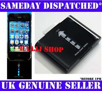 POWER STATION BACKUP EMERGENCY BATTERY CHARGER FOR APPLE iPHONE 3G 3GS 4 4G 4S