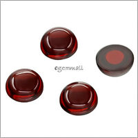 6 Lab CZ Cubic Zirconia Round Cabochon 8mm Garnet Red #92010