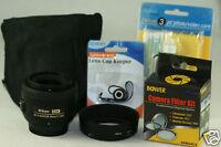 Nikon 35mm 35 1.8 G LENS KIT For D3 D5100 D3200 D7000 D3100 D300S D300 D90 D80