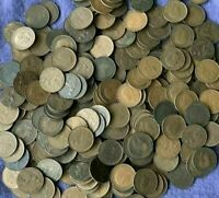 FARTHINGS OLD COINS BULK LOT CHOOSE THE AMOUNT 10 TO 500 FREE POSTAGE