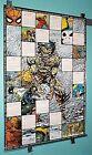 1980's Marvel Universe Poster: X-Men/Spider-man/Hulk/Punisher/Wolverine/Avengers