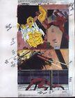 1997 Daredevil 365 page 15 original Marvel Comics color guide artwork:1990's