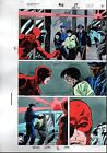 Original 1992 Daredevil 302 page 22 Marvel Comics color guide comic art: 1990's