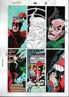 1992 Daredevil 302 page 17 Marvel Comics colorist's color guide art: 1990's Owl