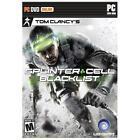 Tom Clancy's Splinter Cell Blacklist for PC XP/VISTA/7/8 SEALED NEW