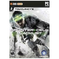 Tom Clancy's Splinter Cell Blacklist for PC XP/VISTA/7/8 SEALED NEW