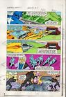1983 Captain America Annual 7 page 11 Marvel Comics color guide art: 1980's