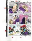 1988 John Buscema Avengers 292 Marvel Comics color guide art page 4: 1980's Thor