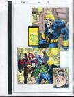 X-Men Mutant X 20 page 4 Marvel Comics color guide art: Iceman/Beast/Storm/Angel